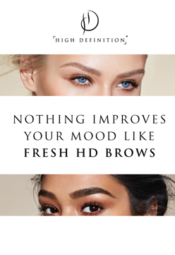 HD Brows are now available at Just Beauty in Sittingbourne, Kent