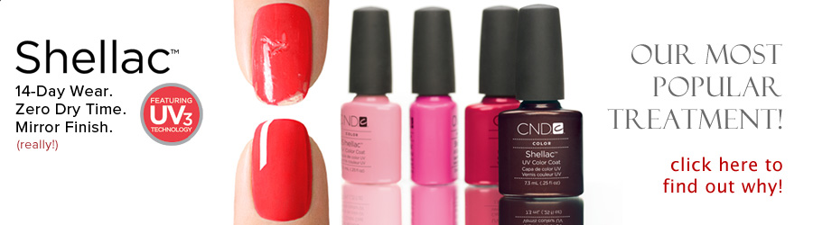 CND Shellac Nail Treatments